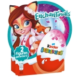 KINDER SURPRISE vajíčko 20g EnchanTimals 4-pack SUPER CENA 2 figurky uvnitř