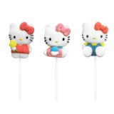Marshmallow lízátko Hello Kitty - 1 ks
