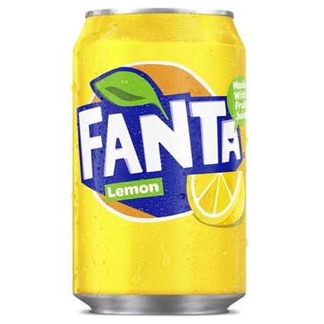 Fanta plechovka 330 ml - CITRÓN / LEMON