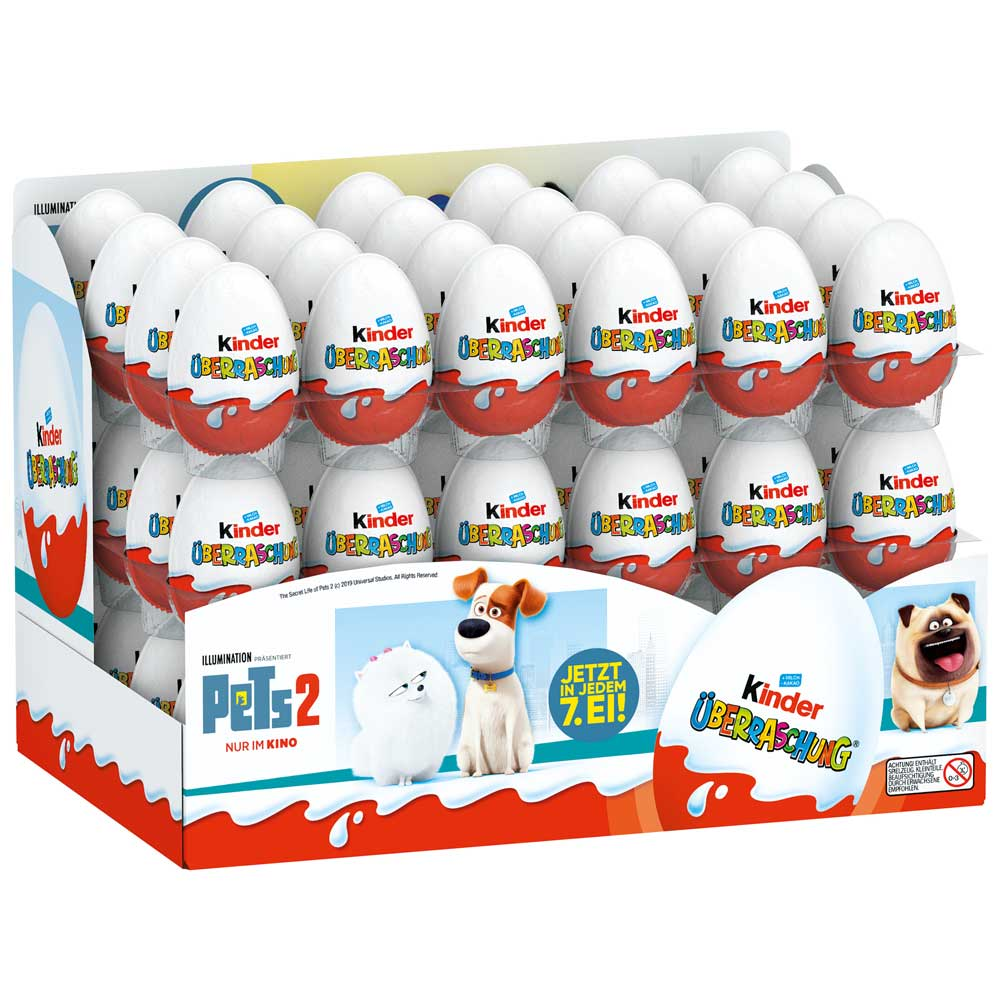 KINDER SURPRISE vajíčko 20g PETS 2