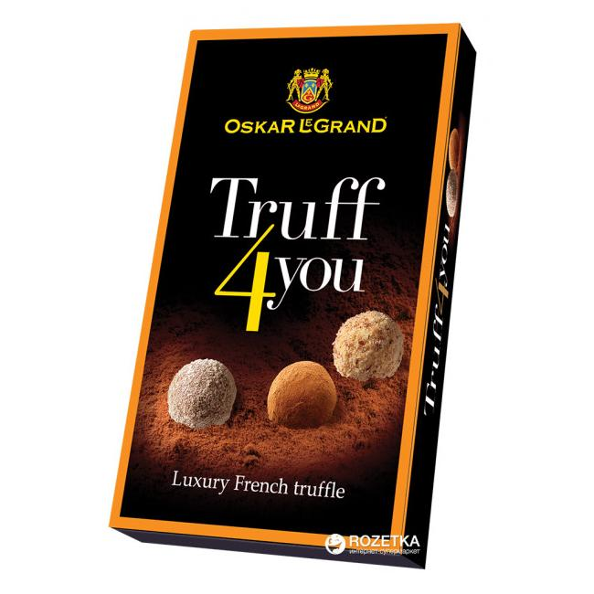 Oskar Le Grand Truff4You Chocolate Truffles 100 g