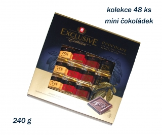 Bonboniera TAITAU EXCLUSIVE COLLECTION 240g - 48 ks mini čokoládek