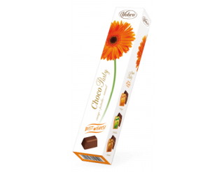 Bonboniera Choco Party 75g KVĚTINY - GERBERA