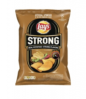 LAY´S STRONG 70g CHEESE & JALAPENO