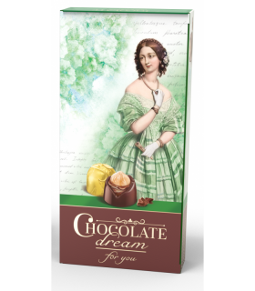 Hořká bonboniera CHOCOLATE DREAM 113g zelená