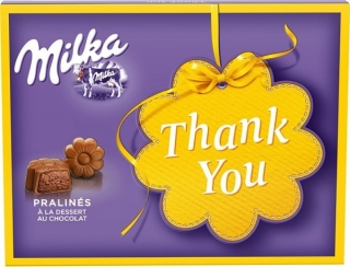Bonboniéra MILKA 120g THANK YOU
