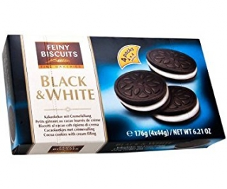 Sušenky FEINY BISCUITS 176g Black&White