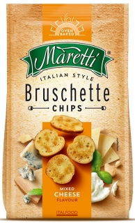 Bruschette chips 70g MIXED CHEESE