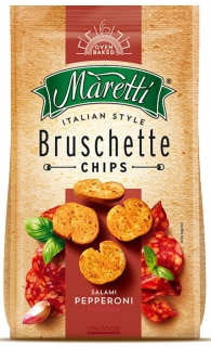 Bruschette chips 70g SALAMI