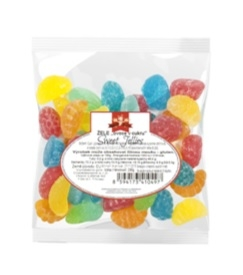 Sweet jellies želé v cukru - sáček 500g MIXED FRUIT